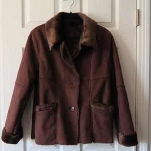 Marvin Richards Faux Fur Coat
